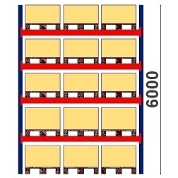 Kompletta pallställ Höjd 6000