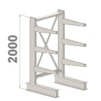 Grenställ H 2000 ensidigt