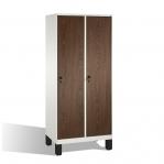 2-door locker, 1850x810x500, MDF doors