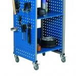 Mobile Flex trolley with wheels 490x445x1080