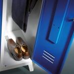 Klädskåp, 3 dörrar, 1850x1200x500mm