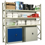 Maxi extension bay 2500x2400x600 300kg/level,3 levels with steel decks