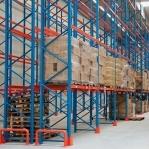 Pallställ startsektion 3500x2700 1000kg/9 pallar OPTIMA