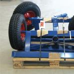 Långgodsvagn 3,5T, 4m