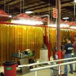 PVC Svetsridå, brons 2x300mm/meter