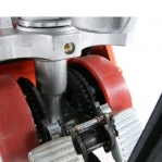 Hand pallet truck 1150x540/2000 kg PU castors