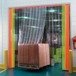 PVC curtain Relief 3x300mm/meter