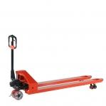 Hand pallet truck 1800x540/3000 kg PU castors