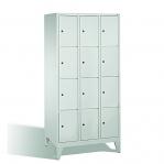 4-tier locker, 12 doors, 1850x900x500 mm
