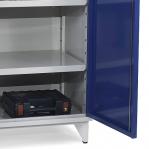 Tool cabinet 4 shelves 1900x1000x545