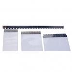 Upphängningsbeslag för PVC-ridå 400mm