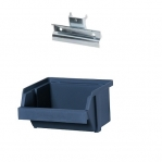 Box holder, incl box 100 mm