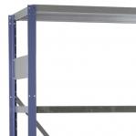 Lagerhylla startsektion 2100x1000x300 200kg/hyllplan,5 hyllor, blå/galv