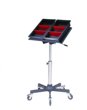 Mobile work table ESD 500x350 mm