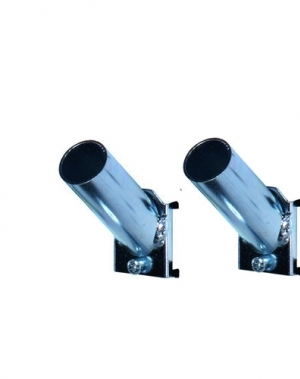Pipe holder 50x9 mm, 2 pcs