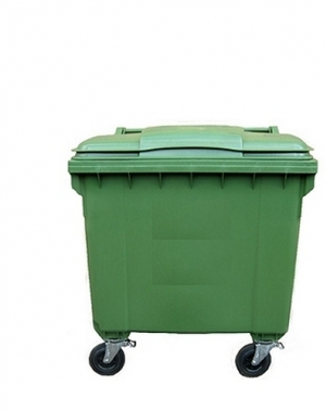 Avfallskärl 770L, grön