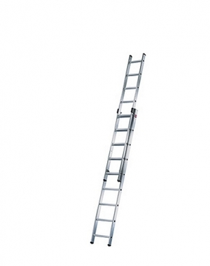 2-sektion ladder Prof 5,19m, 2x9 steg