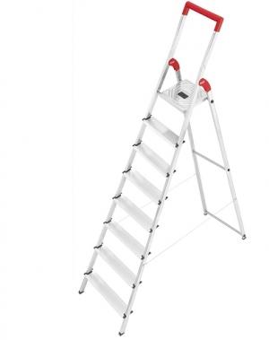 Trappstege, 8-steg, höjd 1720mm