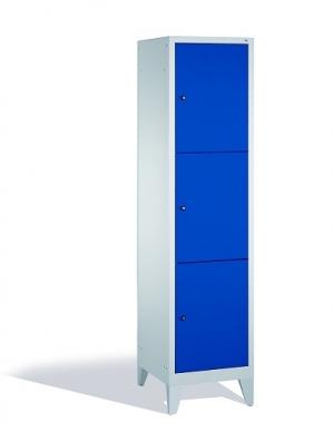 3-tier locker, 3 doors, 1850x420x500 mm