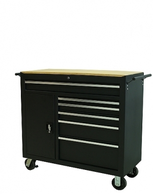 Tool trolley with 6 drawers+locker with 2 drawers 1035x458x1052