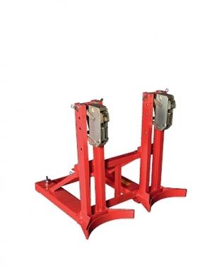 Gripaggregat för 2 fat, 1030x850x1000, 720 kg