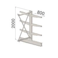 Add On bay 2000x1000x2x800,4 levels