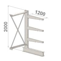 Add On bay 2000x1000x1200,4 levels