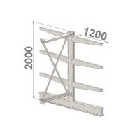 Add On bay 2000x1000x2x1200,4 levels