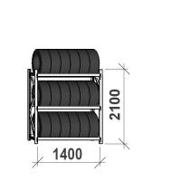 Starter Bay 2100x1400x500, 3 levels