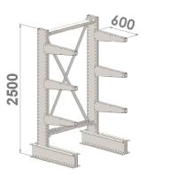 Grenställ startsektion 2500x1000x600,6 x arm
