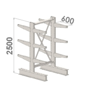 Starter bay 2500x1000x2x600,4 levels