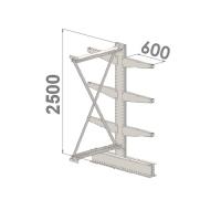 Add On bay 2500x1000x2x600,4 levels