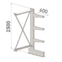 Grenställ följesektion 2500x1000x600,3 x arm