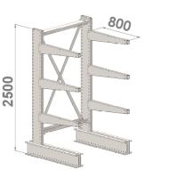 Grenställ startsektion 2500x1000x800,6 x arm