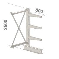 Grenställ följesektion 2500x1000x800,3 x arm