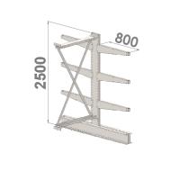 Add On bay 2500x1000x2x800,4 levels