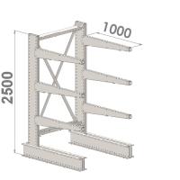 Grenställ startsektion 2500x1000x1000,6 x arm