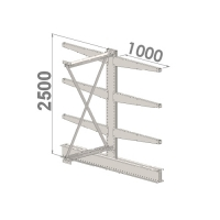 Add On bay 2500x1000x2x1000,4 levels