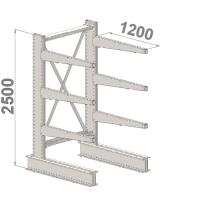 Grenställ startsektion 2500x1000x1200,6 x arm