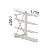 Add On bay 2500x1000x2x1200,4 levels