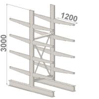 Grenställ startsektion 3000x1000x2x1200,16 x arm