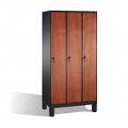 3-door locker, 1850x900x500, MDF doors