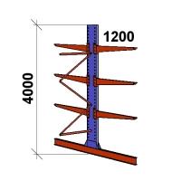 Add On bay 4000x1500x2x1200,4 levels