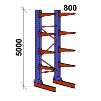Grenställ startsektion 5000x1500x800,8 x arm