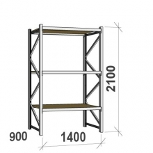 Starter bay 2100x1400x900 600kg/level,3 levels with chipboard