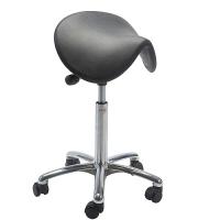 Saddle stool Dalton PU Alu50