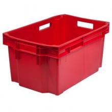 Förvaringslåda 600x400x300mm, röd
