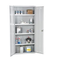 Chemical cabinet 2000x1000x500 collapsible grey