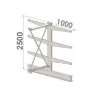 Add On bay 2500x1500x2x1000,4 levels