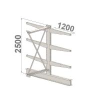 Add On bay 2500x1500x2x1200,4 levels